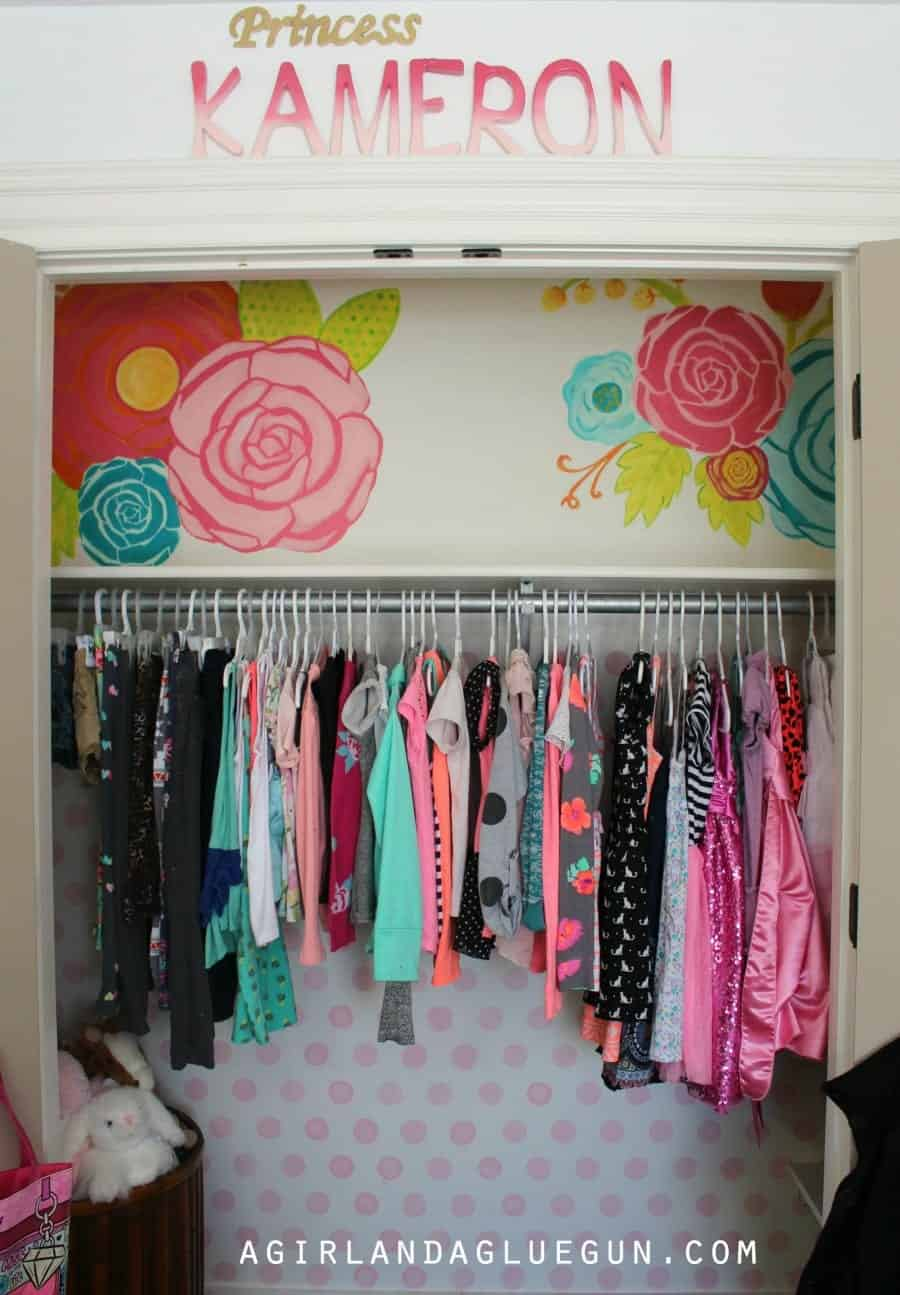polka dot closet