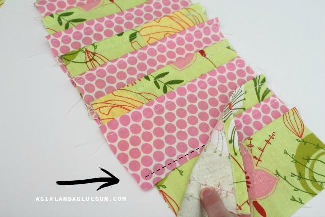 sew layers of fabric