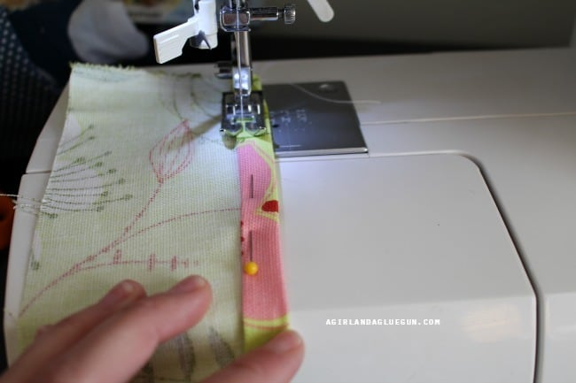 sew on binding