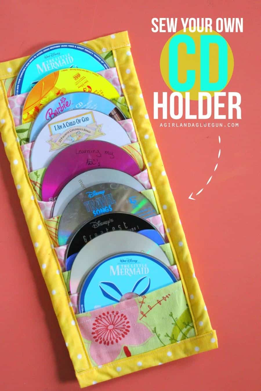 sew your own cd holder