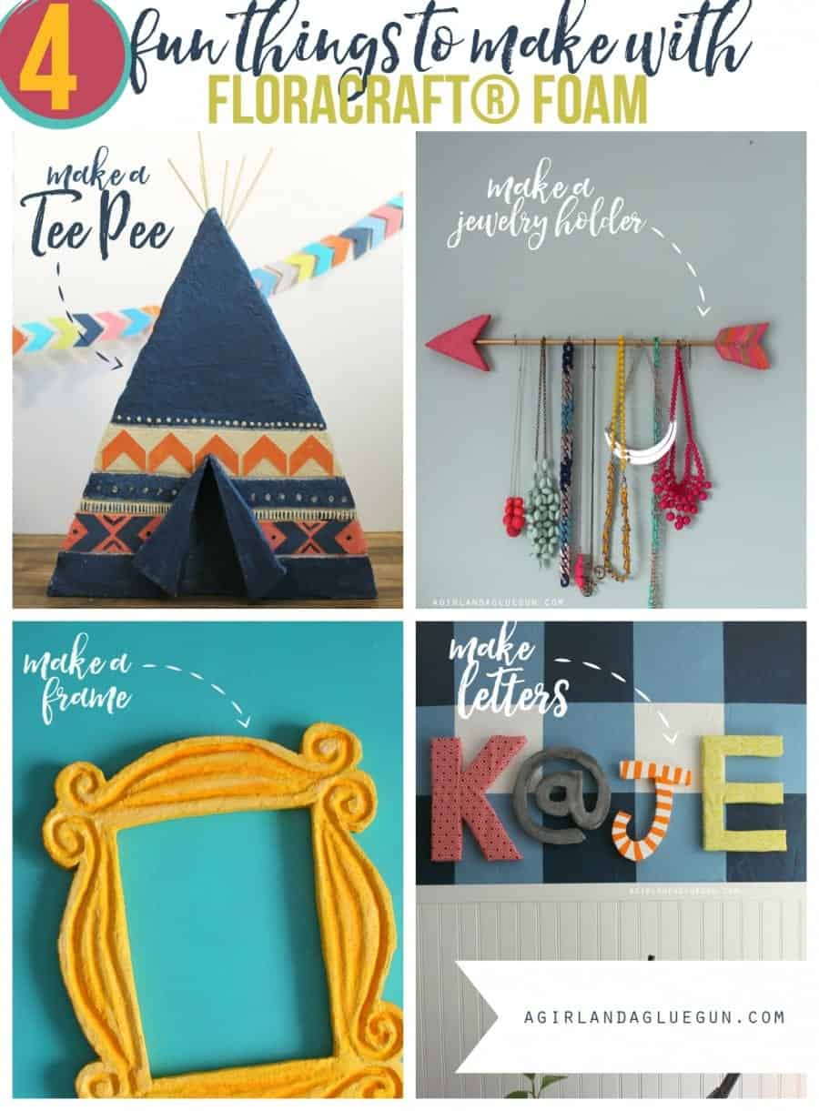 4 fun ideas of things to make with floracraft foam