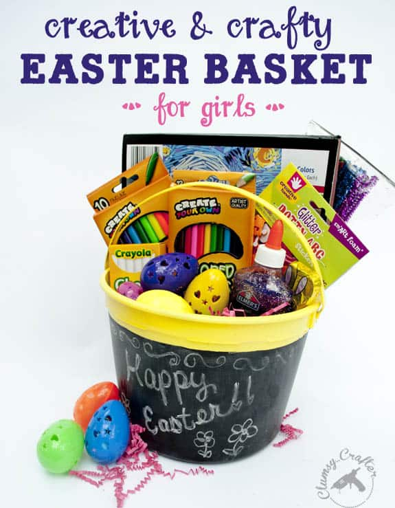Easter basket roundup a girl and a glue gun creative and crafty easter basket ideas for girls negle Choice Image