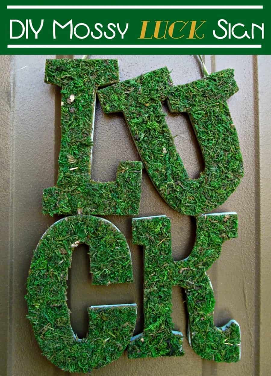 DIY Luck Sign2