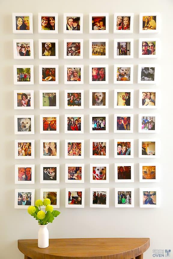 Instagram-Wall