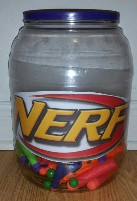 Nerf dart storage