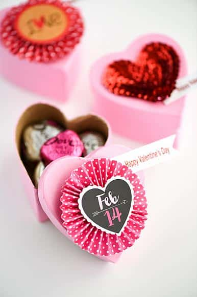 Valentine party favor