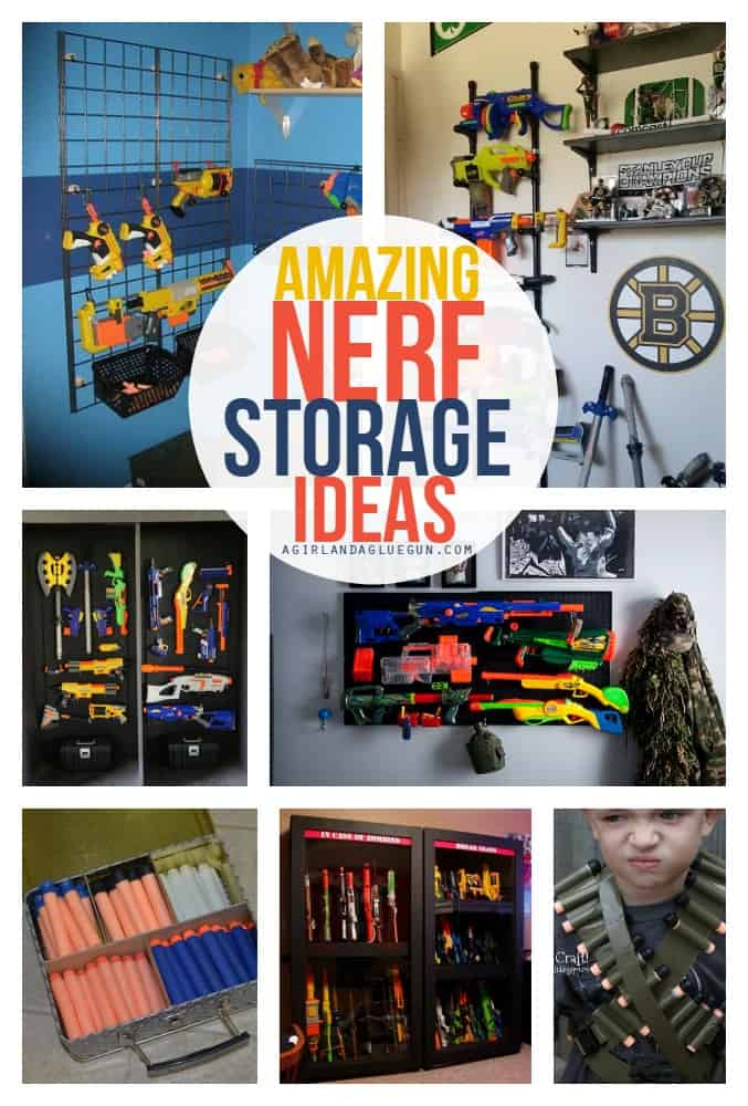 Amazing Nerf Storage Ideas