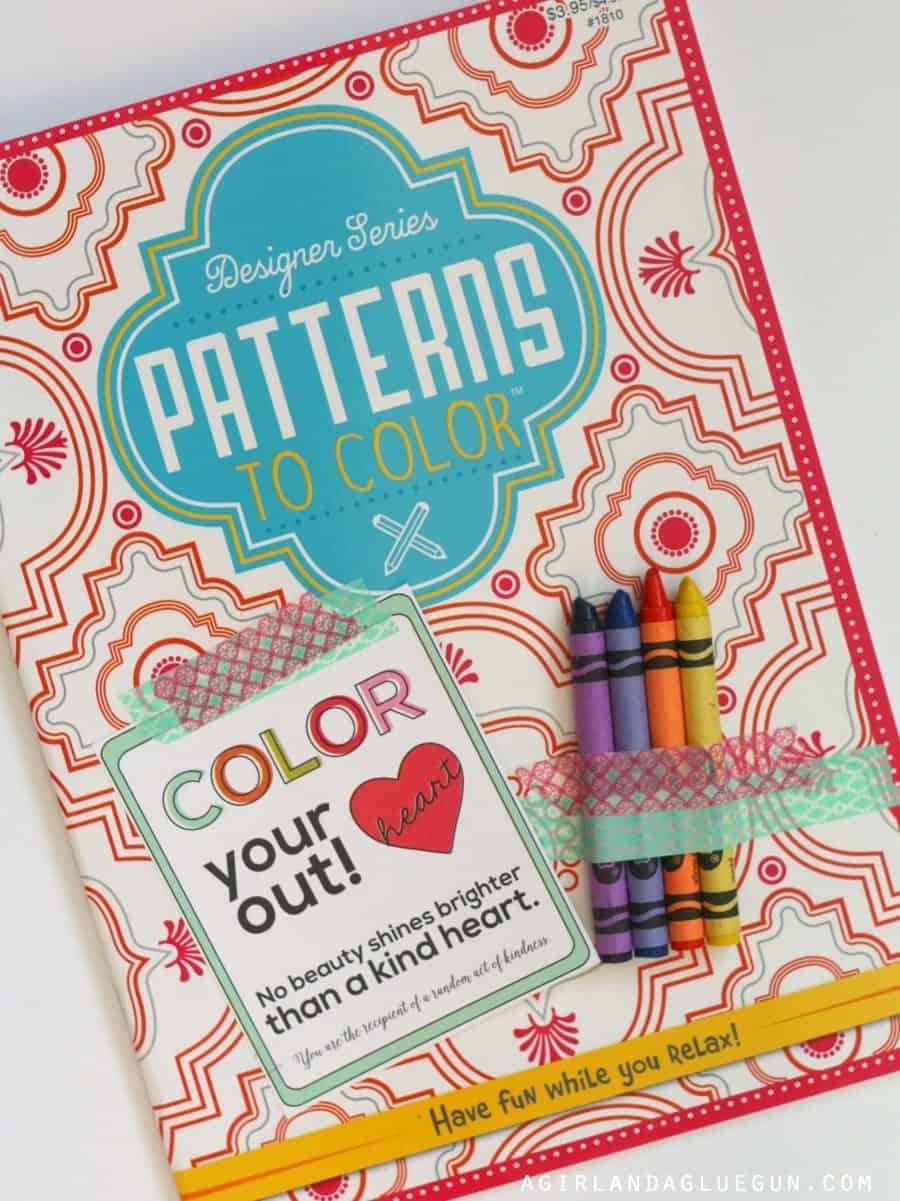 coloring book gift idea