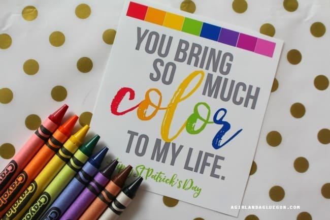 crayon printable