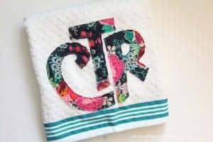 Throwback Thursday–baptism towel