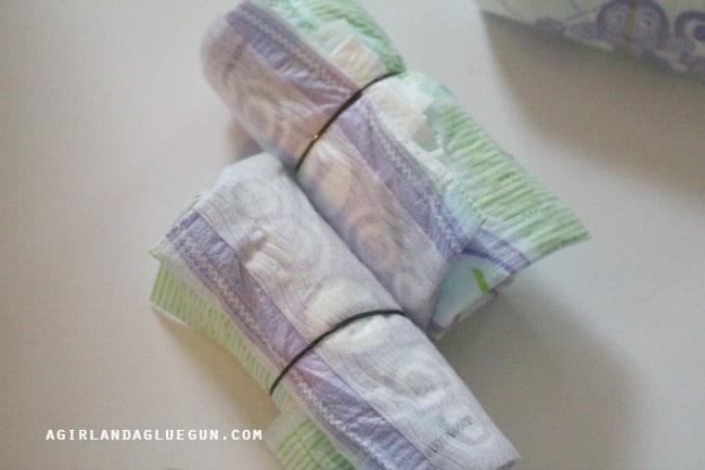 diaper rolls