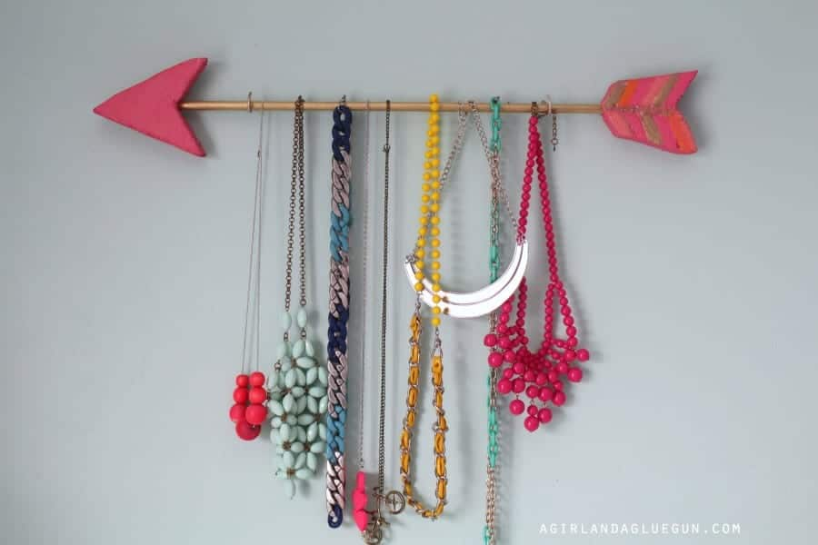 fun jewelry holder idea