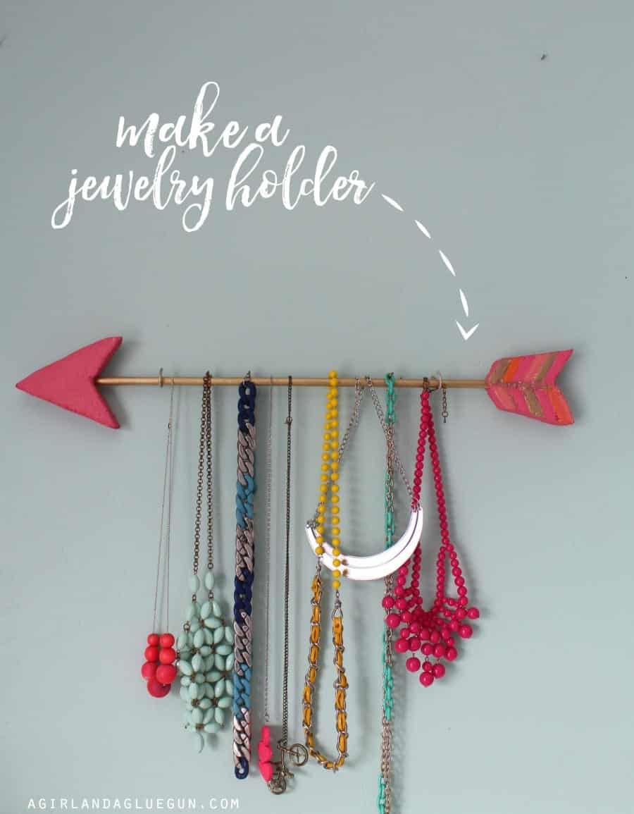 make a jewelry holder