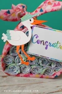 Stork Baby present!