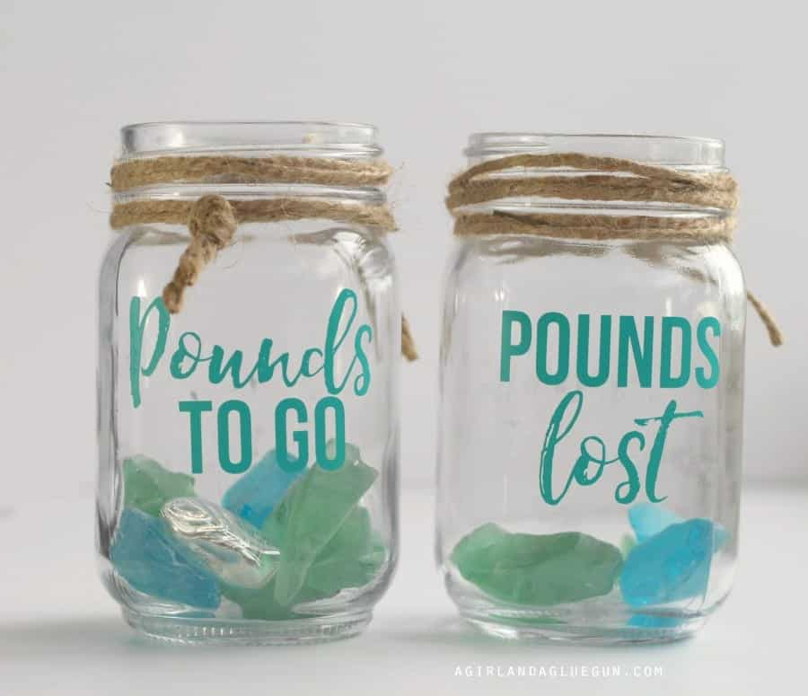 pounds to go versus pounds lost