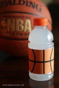 Sports drink wraps