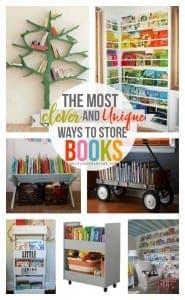 Kids Book storage