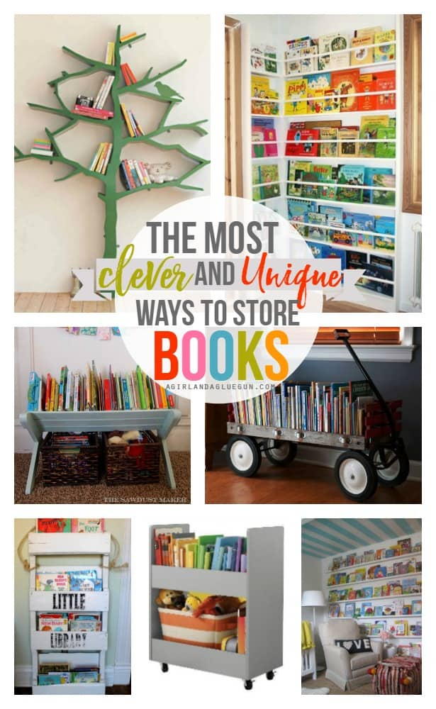 Kids Book Storage