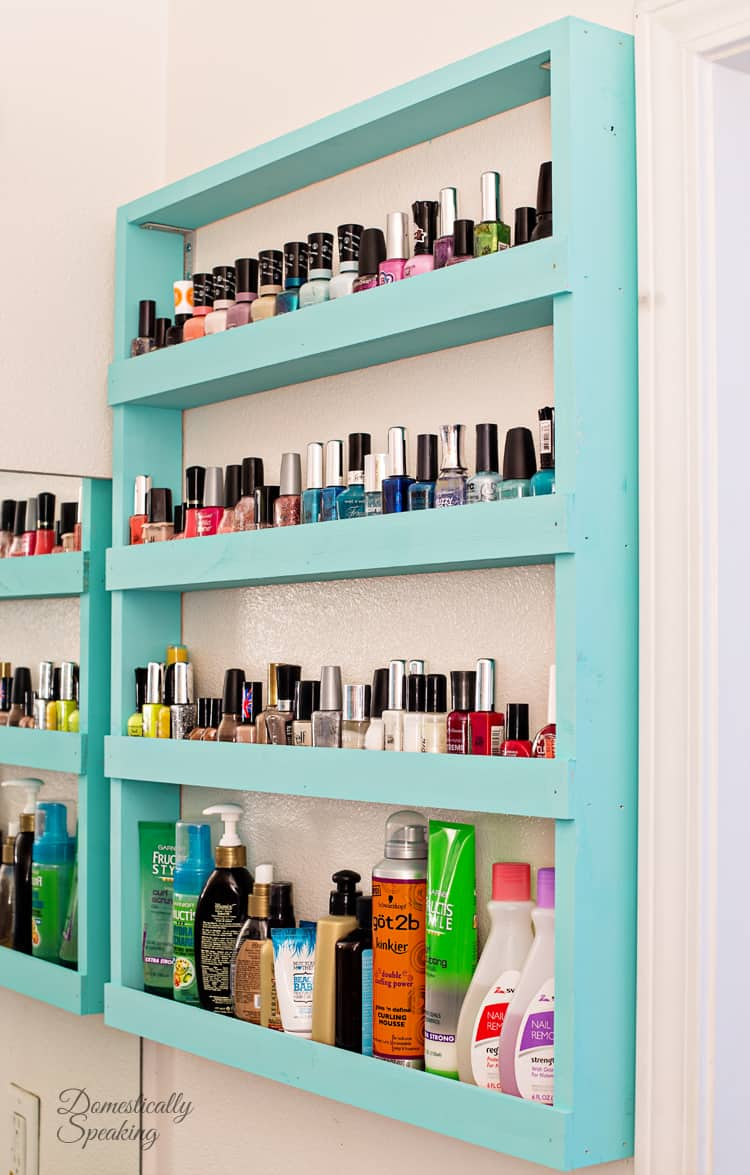 Bathroom-Storage-Nail-Polish-Shelf-DIY
