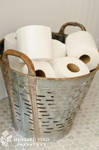 TIDBITS-TWINE-Olive-Bucket-Toilet-Paper-Holder
