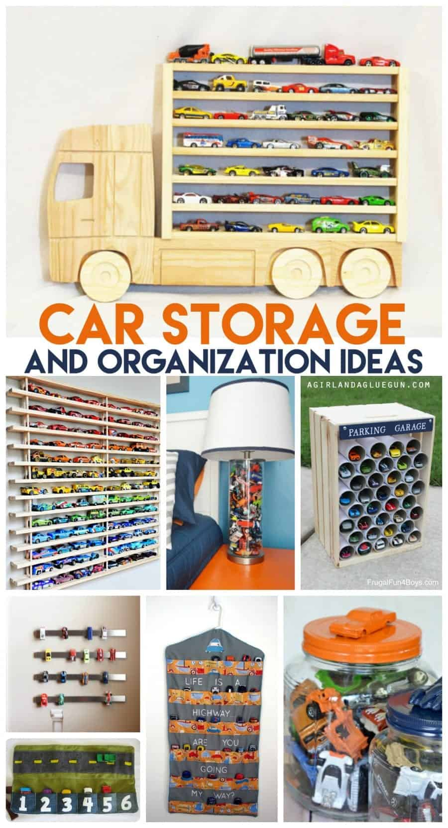 car storage and organization ideas