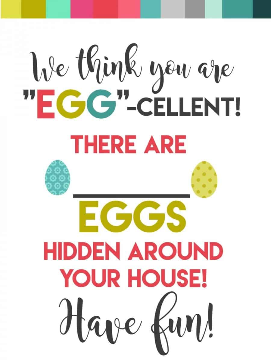 surprise your neighbors or kids with an easter egg hunt