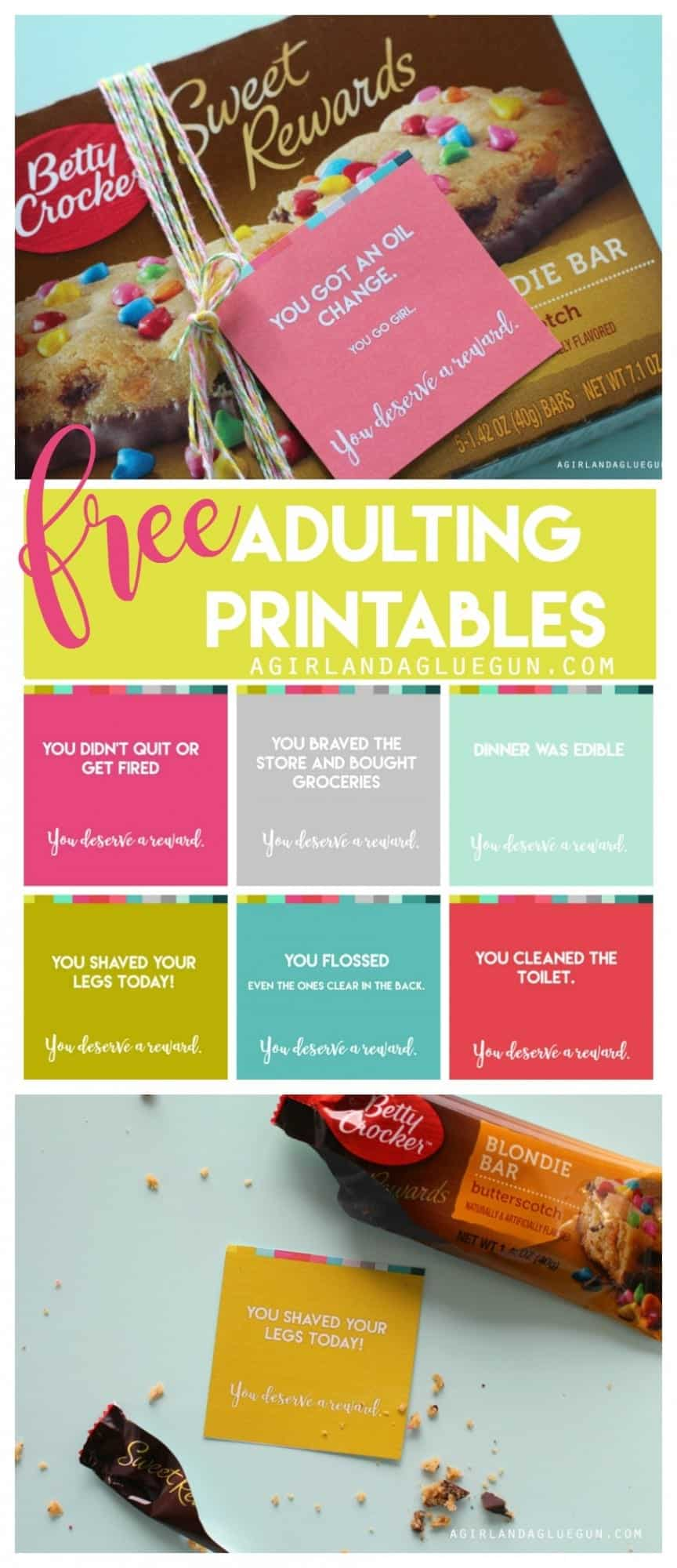 free adutling printables with betty crocker sweet rewards
