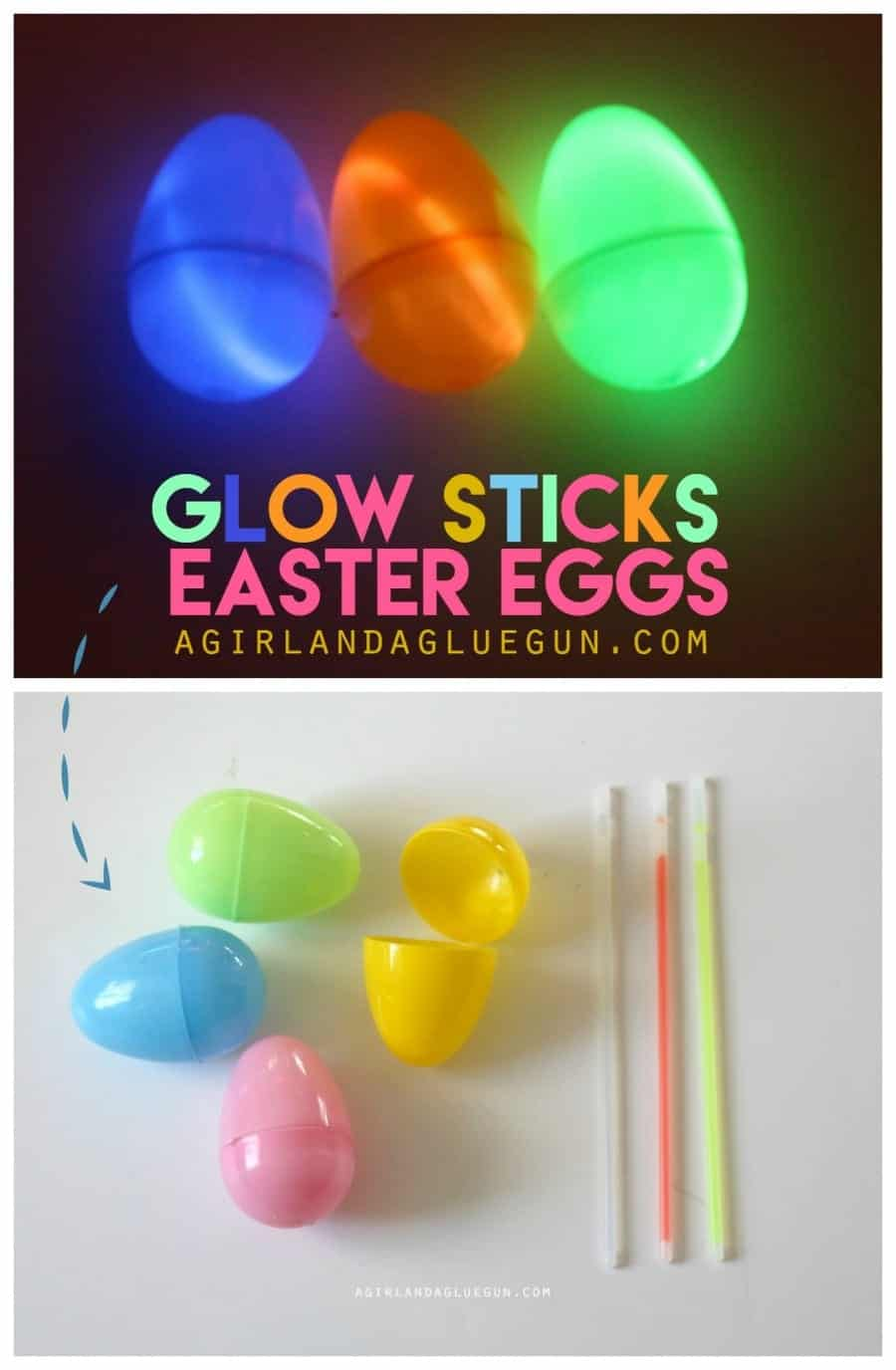 glow sticks easter eggs for a fun glow in the dark easter egg hunt