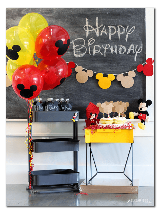 mickey-party-craft