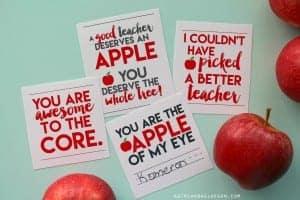 4 free printables for teachers