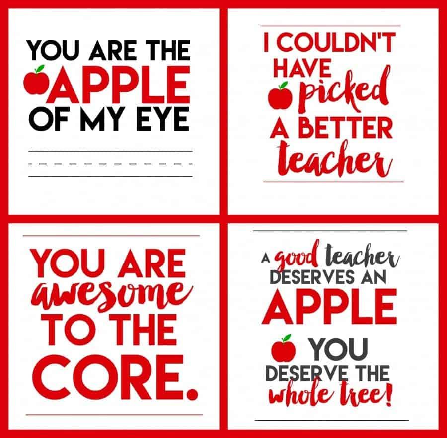4 fun teacher printables!