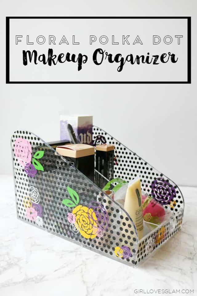 Floral-Polka-Dot-Makeup-Organizer-1