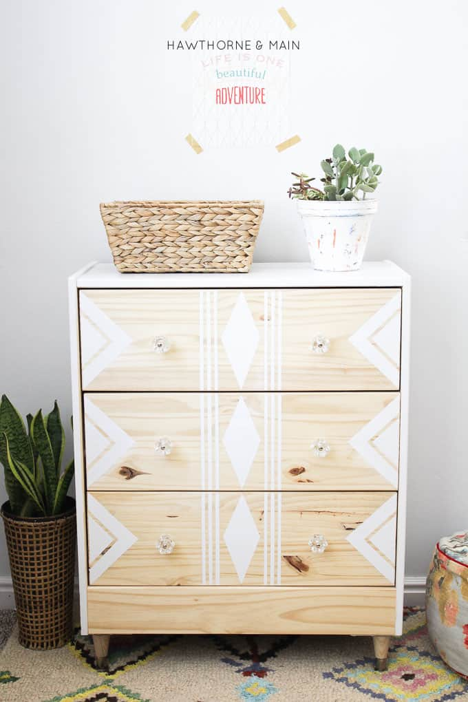 IKEA-rast-hack-paint-and-tape-tribal-6