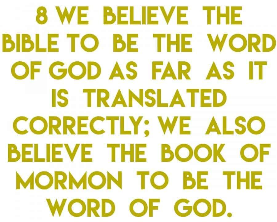 article of faith 8