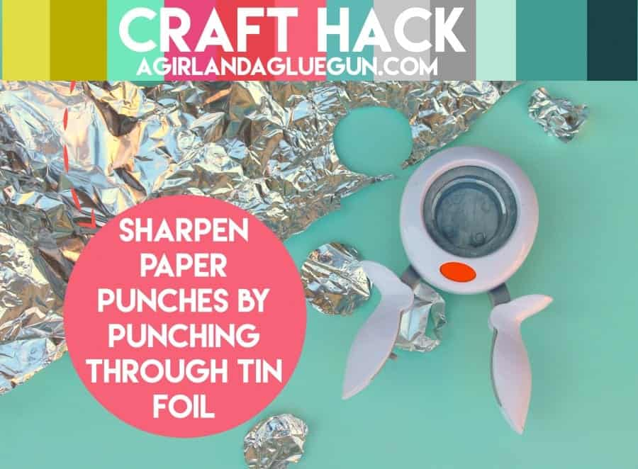craft hack--for paper punches