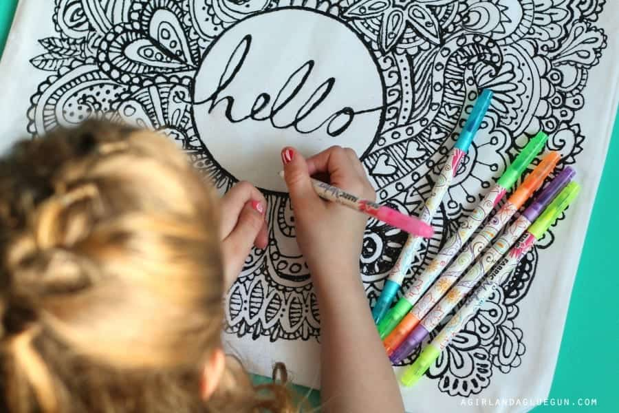 diy coloring page ideas for adults