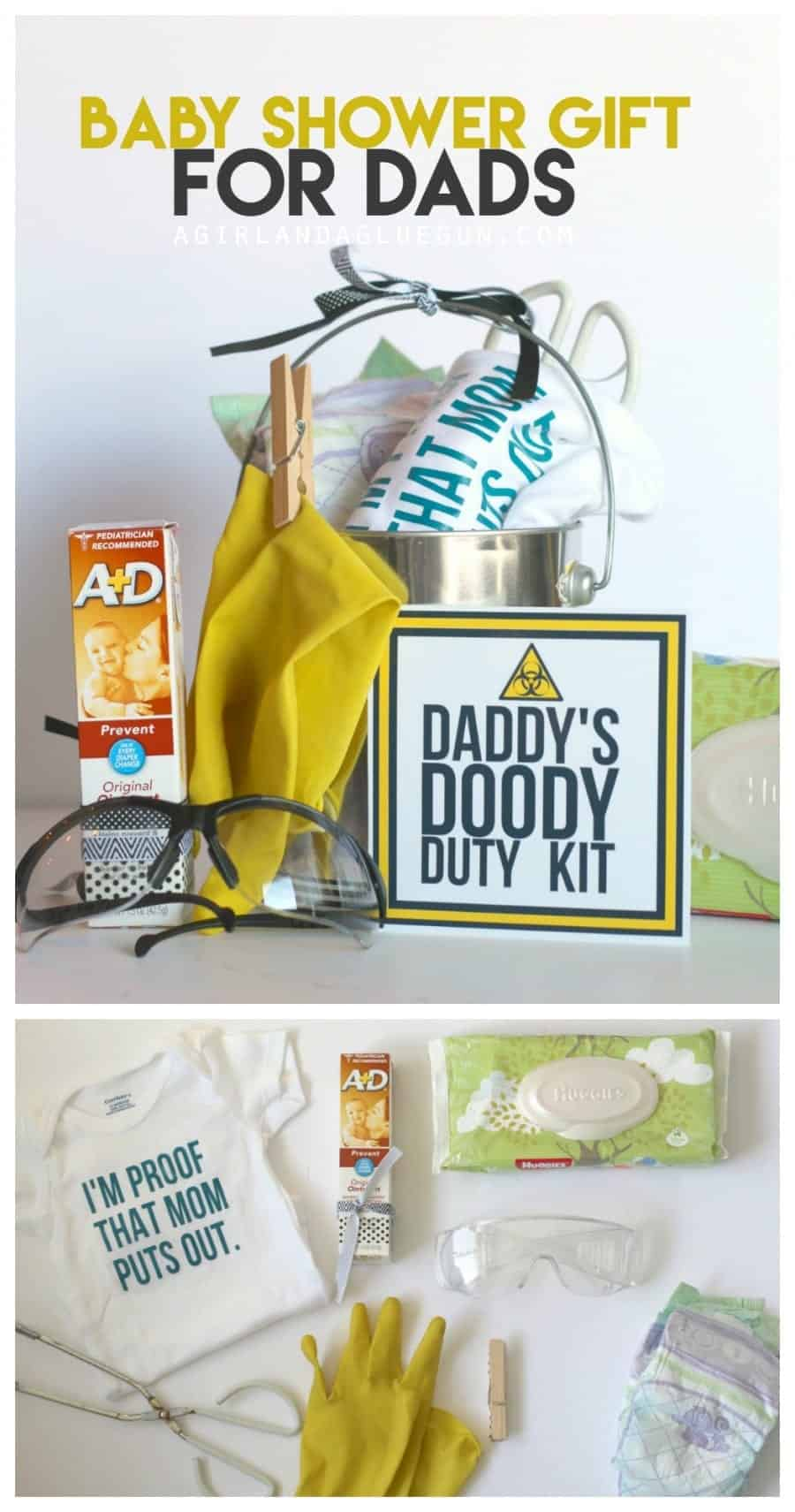 Funny Baby Shower Gift Daddy Doody Duty Kit A Girl And