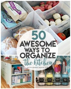 Kitchen Organization Roundup