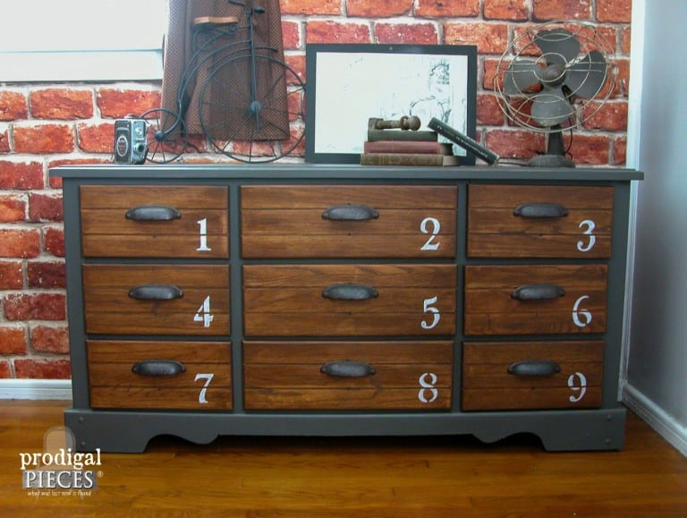 Best Dresser Upcycles - A girl and a glue gun
