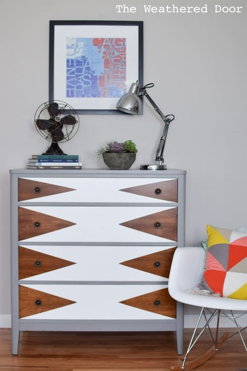 Best Dresser Upcycles A Girl And A Glue Gun