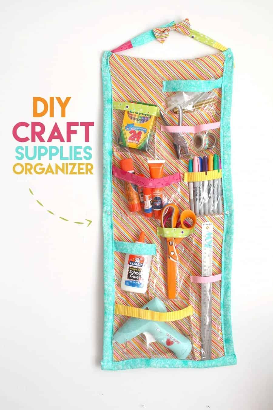 sew your own craft supplies organizer
