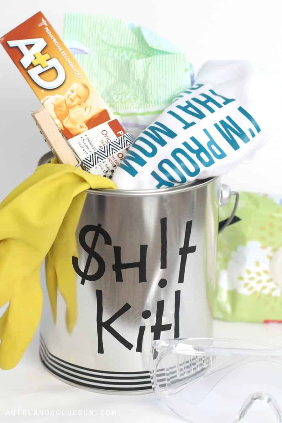 sh$ kit for baby shower gift