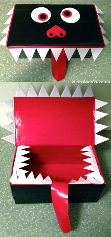 Shoe Box Dollhouse Craft For Kids: Shoe Box Crafts For Kids