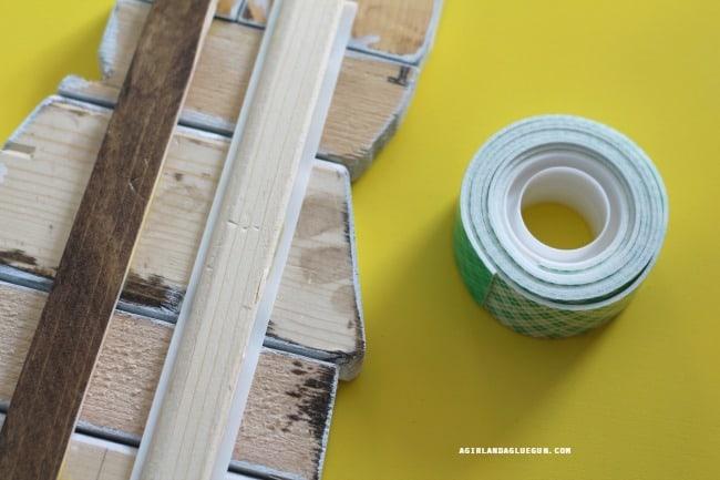 attach scotch® tape