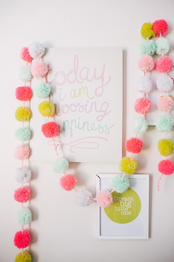 35 Super Cool Pom Pom Projects A Girl And A Glue Gun