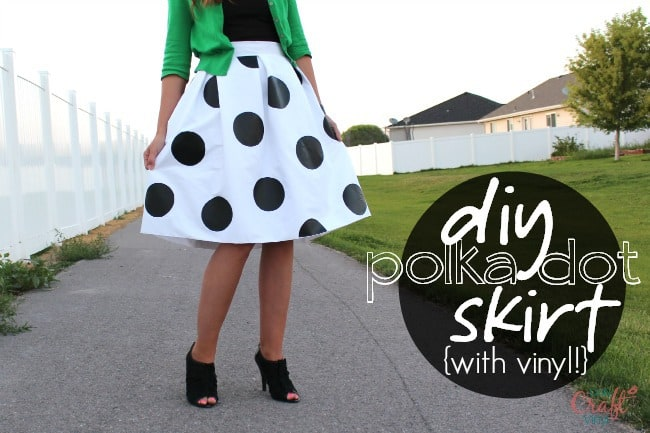 do it yourself polka dots with iron on vinyl daily craft