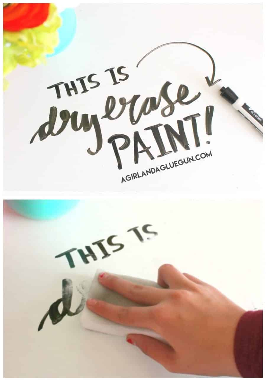 dry erase paint easy and fun for kids craft room