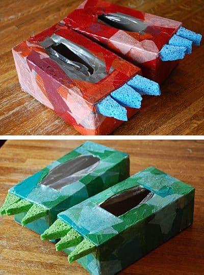 Shoe Box Crafts For Kids A Girl And A Glue Gun