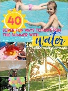 Summer Time Water Fun