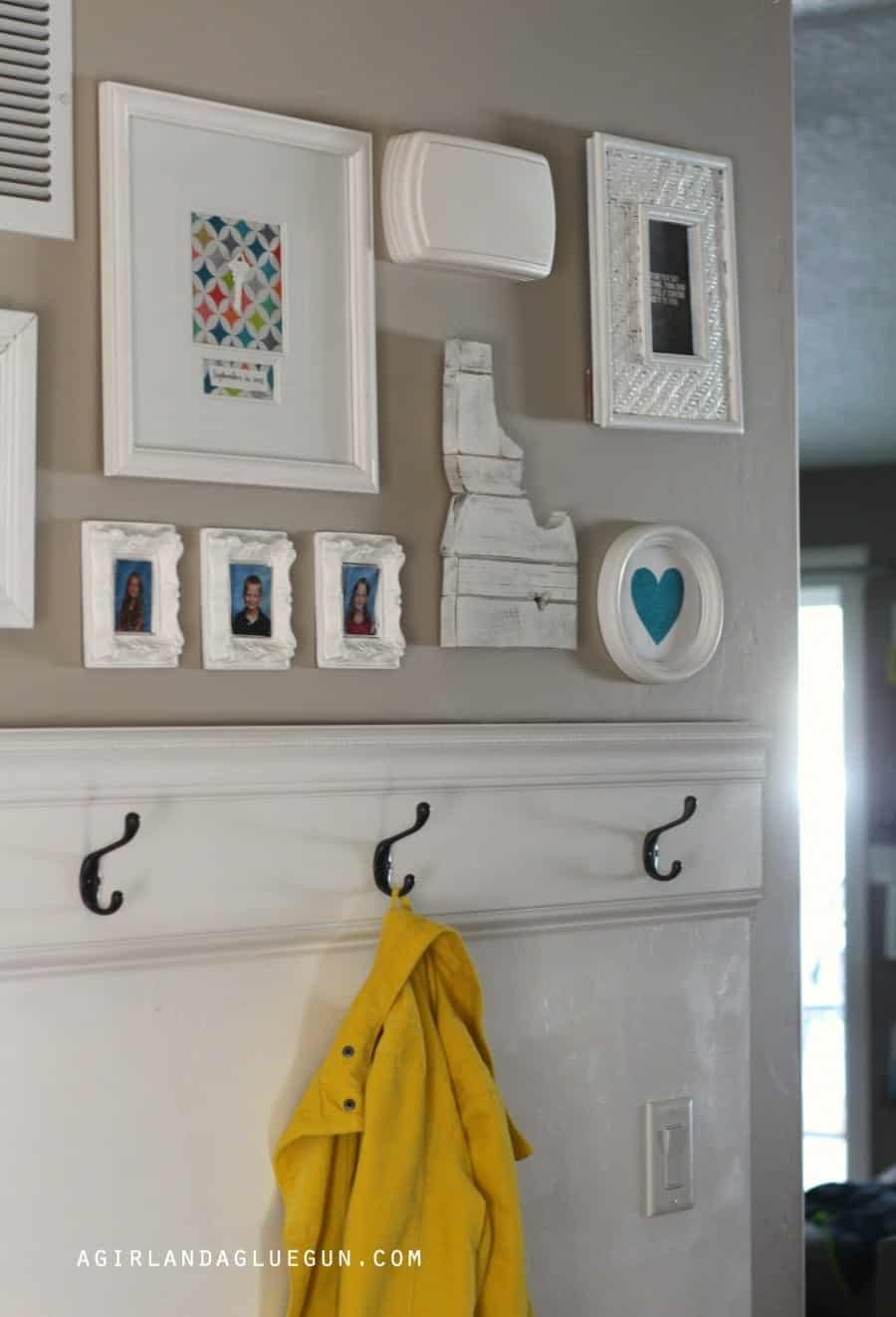 fun diy gallery wall